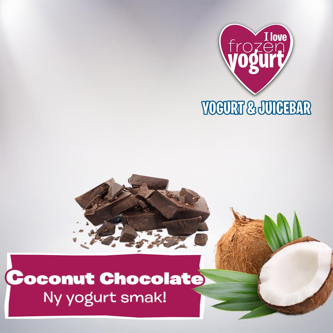 kokos choklad yogurt smak